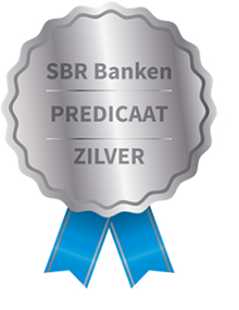 SBR Banken Predicaat Zilver