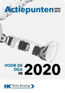 belastingplannen 2020 dga