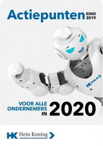 belastingplannen 2020 ondernemers